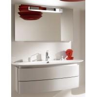 Мебель для ванной Jacob Delafon Presqu'ile 130 подвесная с 2мя ящиками белая