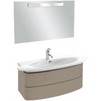 Мебель для ванной Jacob Delafon Presqu'ile 130 подвесная с 2мя ящиками серый титан