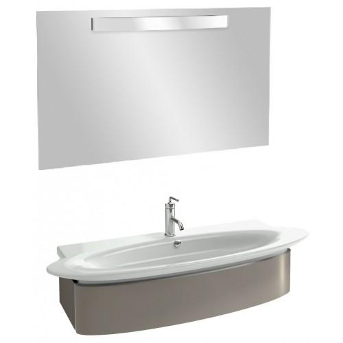 Мебель для ванной Jacob Delafon Presqu'ile 130 подвесная серый титан