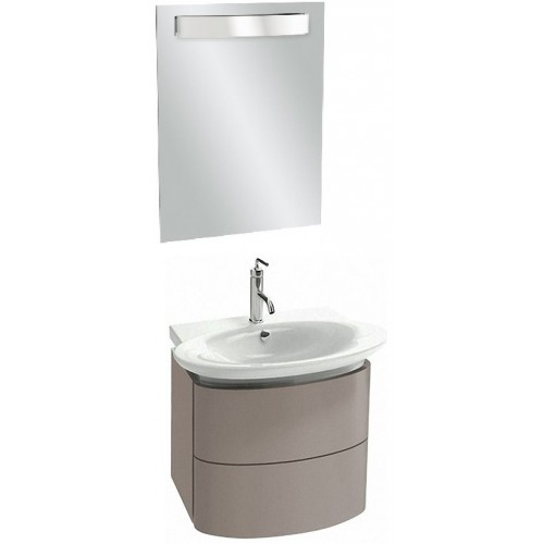 Мебель для ванной Jacob Delafon Presqu'ile 60 подвесная серый титан