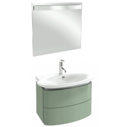 Мебель для ванной Jacob Delafon Presqu'ile 80 подвесная нежно-оливковая
