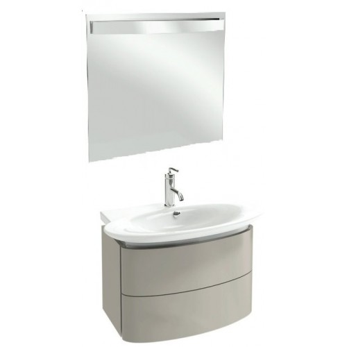 Мебель для ванной Jacob Delafon Presqu'ile 80 подвесная серый титан