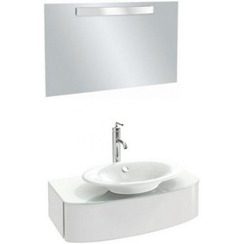 Мебель для ванной Jacob Delafon Presqu'ile 83 подвесная белая