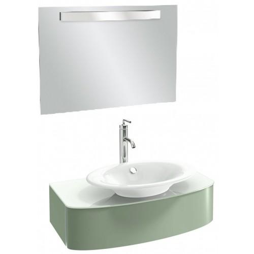 Мебель для ванной Jacob Delafon Presqu'ile 83 подвесная нежно-оливковая