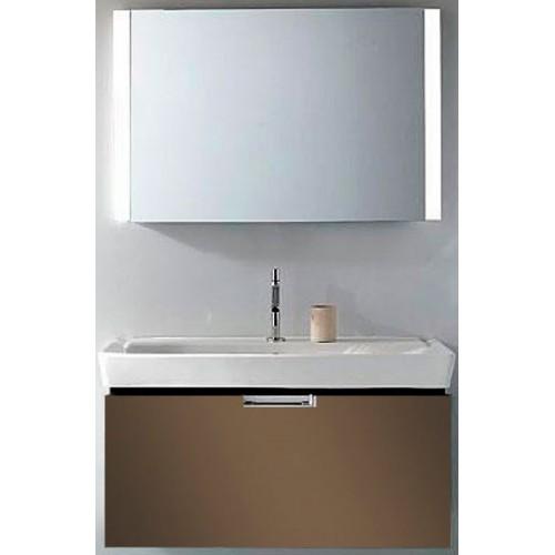 Мебель для ванной Jacob Delafon Reve 100 подвесная светло-коричневая