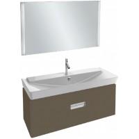 Мебель для ванной Jacob Delafon Reve 120 подвесная светло-коричневая с 2-мя ящиками