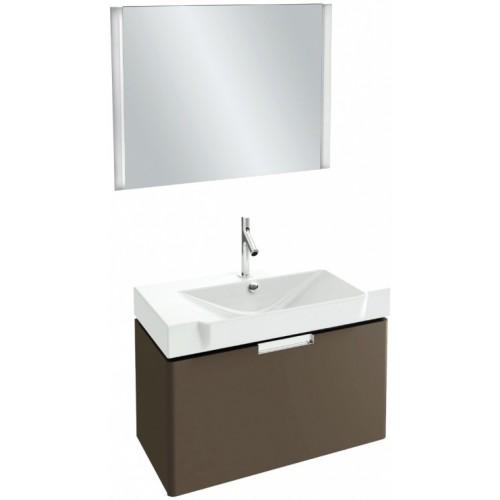 Мебель для ванной Jacob Delafon Reve 80 подвесная светло-коричневая