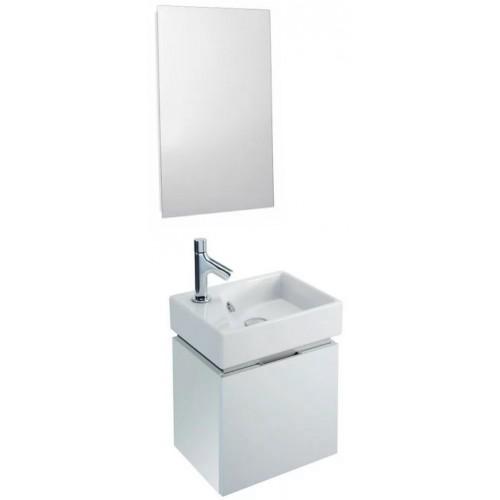 Мебель для ванной Jacob Delafon Rythmik 40 подвесная белый блестящий лак
