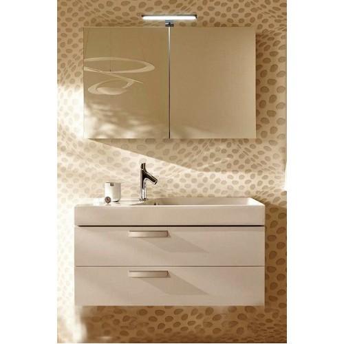 Мебель для ванной Jacob Delafon Rythmik 80x36 подвесная белый блестящий 2 ящика