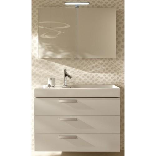 Мебель для ванной Jacob Delafon Rythmik 80x36 подвесная белый блестящий 3 ящика