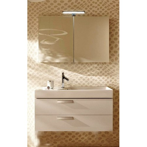 Мебель для ванной Jacob Delafon Rythmik 80x45 подвесная белый блестящий лак 2 ящика