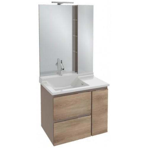 Мебель для ванной Jacob Delafon Soprano 100 квебекский дуб