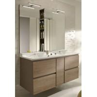 Мебель для ванной Jacob Delafon Soprano 140 квебекский дуб