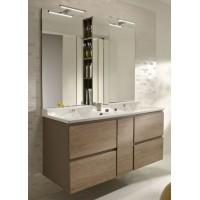 Мебель для ванной Jacob Delafon Soprano 140 с выдвижным ящиком квебекский дуб