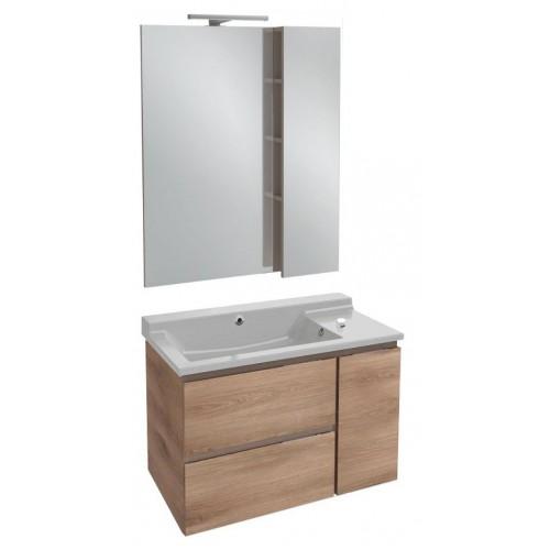 Мебель для ванной Jacob Delafon Soprano 80 квебекский дуб