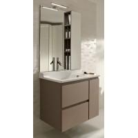 Мебель для ванной Jacob Delafon Soprano 80 раковина с встроенным смесителем квебекский дуб