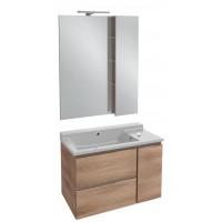 Мебель для ванной Jacob Delafon Soprano 80 с выдвижным ящиком квебекский дуб