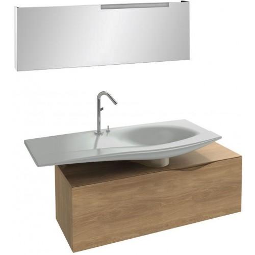 Мебель для ванной Jacob Delafon Stillness 140 подвесная натуральный дуб