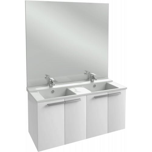 Мебель для ванной Jacob Delafon Struktura 120 подвесная белый блестящий