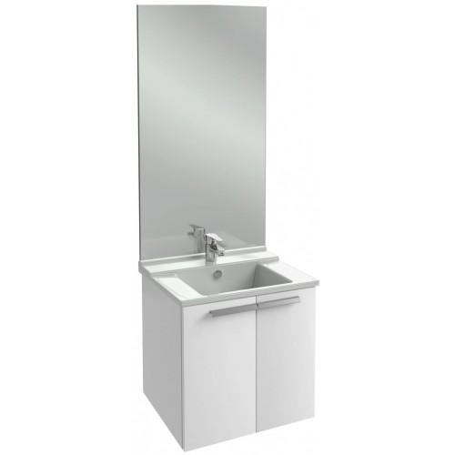 Мебель для ванной Jacob Delafon Struktura 60 подвесная белый блестящий