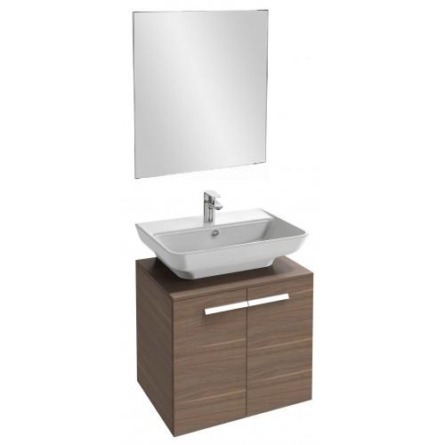 Мебель для ванной Jacob Delafon Struktura 60 подвесная ореховое дерево