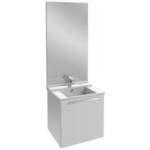 Мебель для ванной Jacob Delafon Struktura 60 подвесная с 1-м ящиком белый блестящий