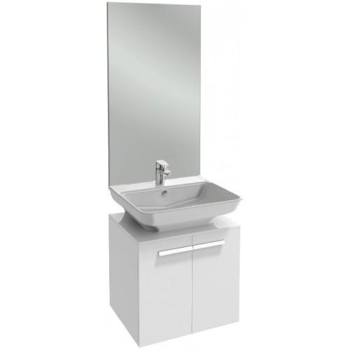 Мебель для ванной Jacob Delafon Struktura 65 подвесная белый блестящий