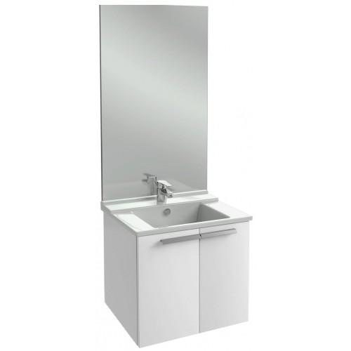 Мебель для ванной Jacob Delafon Struktura 80 подвесная белый блестящий