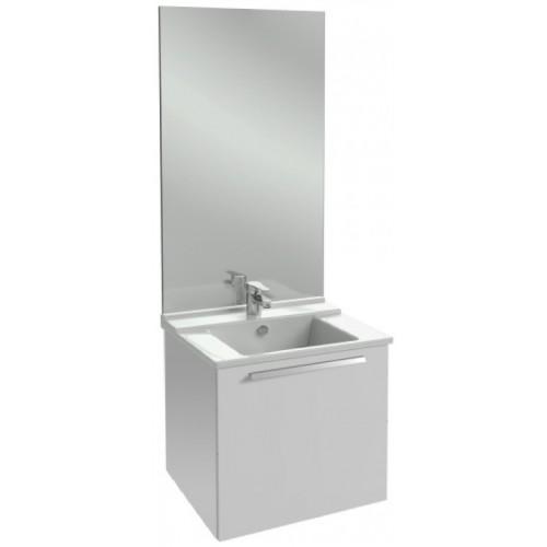 Мебель для ванной Jacob Delafon Struktura 80 подвесная с 1-м ящиком белый блестящий