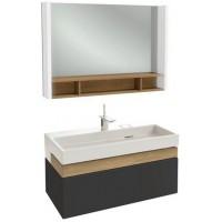 Мебель для ванной Jacob Delafon Terrace 100 подвесная черная матовая