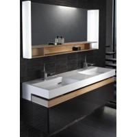 Мебель для ванной Jacob Delafon Terrace 150 подвесная черная матовая