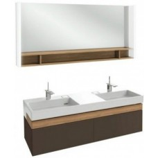 Мебель для ванной Jacob Delafon Terrace 150 подвесная ледяной коричневый глянцевый