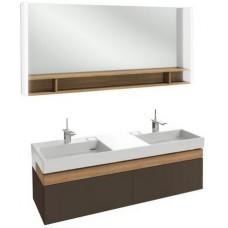 Мебель для ванной Jacob Delafon Terrace 150 подвесная светло-коричневая глянцевая