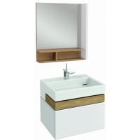 Мебель для ванной Jacob Delafon Terrace 60 подвесная белый блестящий лак
