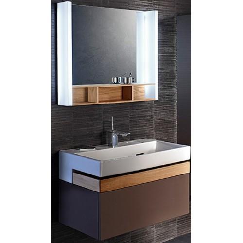 Мебель для ванной Jacob Delafon Terrace 80 подвесная светло-коричневая
