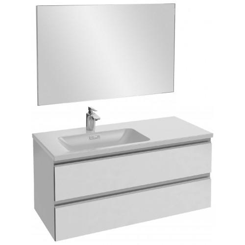 Мебель для ванной Jacob Delafon Vox 100 подвесная левая белая блестящая