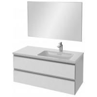 Мебель для ванной Jacob Delafon Vox 100 подвесная правая белый блестящий лак