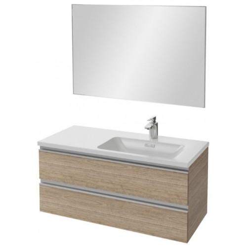 Мебель для ванной Jacob Delafon Vox 100 подвесная правая квебекский дуб