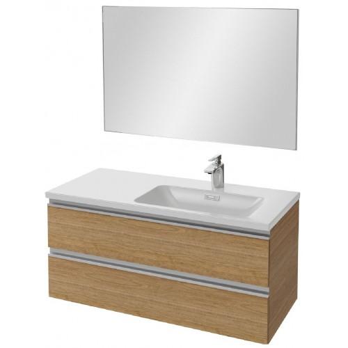 Мебель для ванной Jacob Delafon Vox 100 подвесная правая ореховое дерево