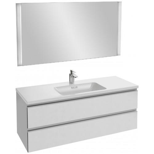 Мебель для ванной Jacob Delafon Vox 120 подвесная белая блестящая