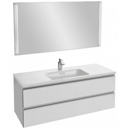 Мебель для ванной Jacob Delafon Vox 120 подвесная белая матовая