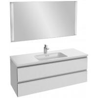 Мебель для ванной Jacob Delafon Vox 120 подвесная белый блестящий лак