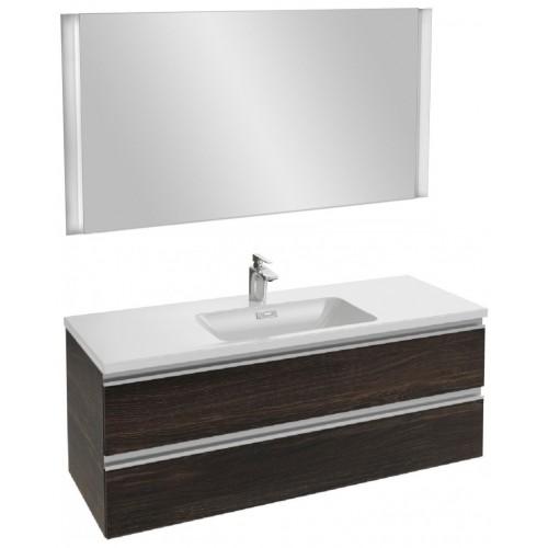 Мебель для ванной Jacob Delafon Vox 120 подвесная черное дерево