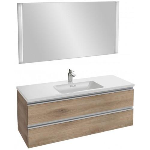 Мебель для ванной Jacob Delafon Vox 120 подвесная квебекский дуб