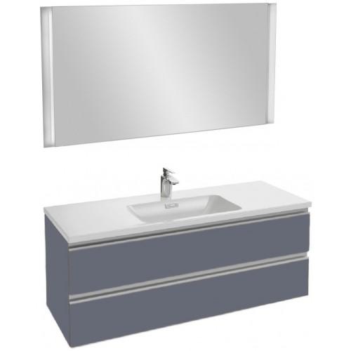 Мебель для ванной Jacob Delafon Vox 120 подвесная насыщенный серый матовый