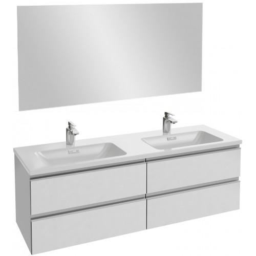 Мебель для ванной Jacob Delafon Vox 140 подвесная белая блестящая