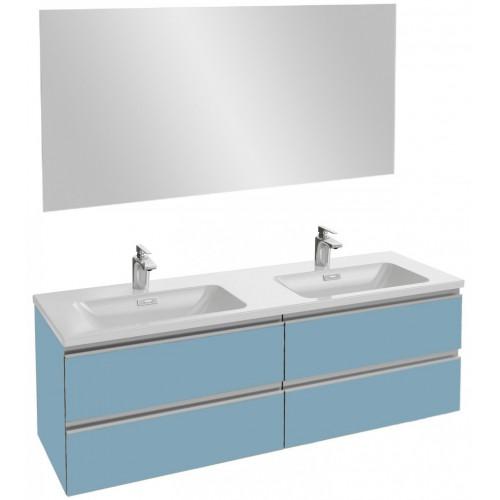 Мебель для ванной Jacob Delafon Vox 140 подвесная матовый аквамарин