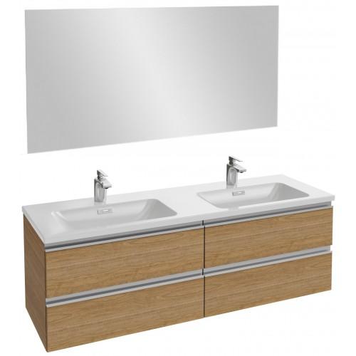 Мебель для ванной Jacob Delafon Vox 140 подвесная ореховое дерево