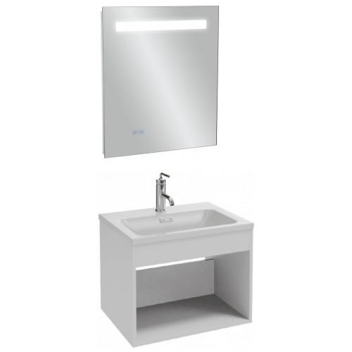 Мебель для ванной Jacob Delafon Vox 60 подвесная без ящика белая блестящая