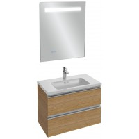 Мебель для ванной Jacob Delafon Vox 60 подвесная ореховое дерево